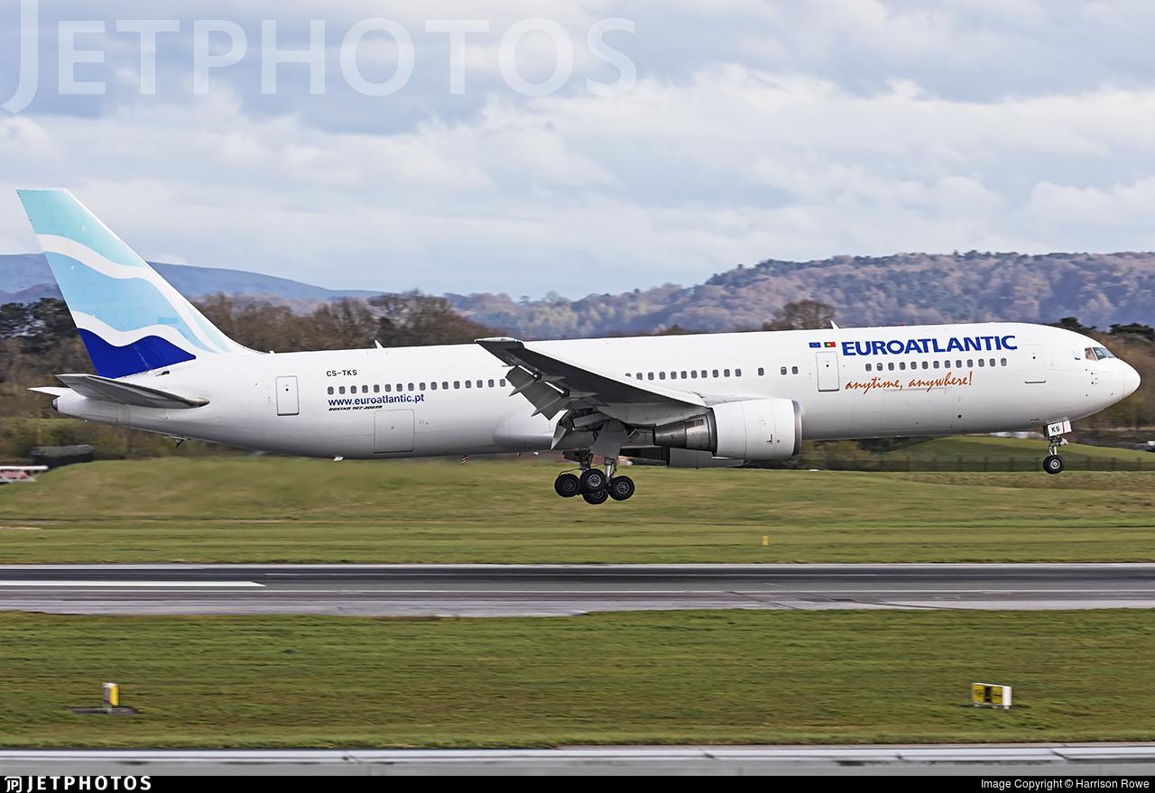CS-TKS - Boeing 767-36N(ER) - EuroAtlantic Airways