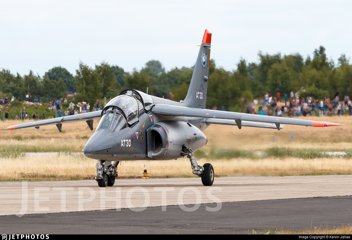 AT-30 - Dassault-Dornier Alpha Jet 1B+ - Belgium - Air Force