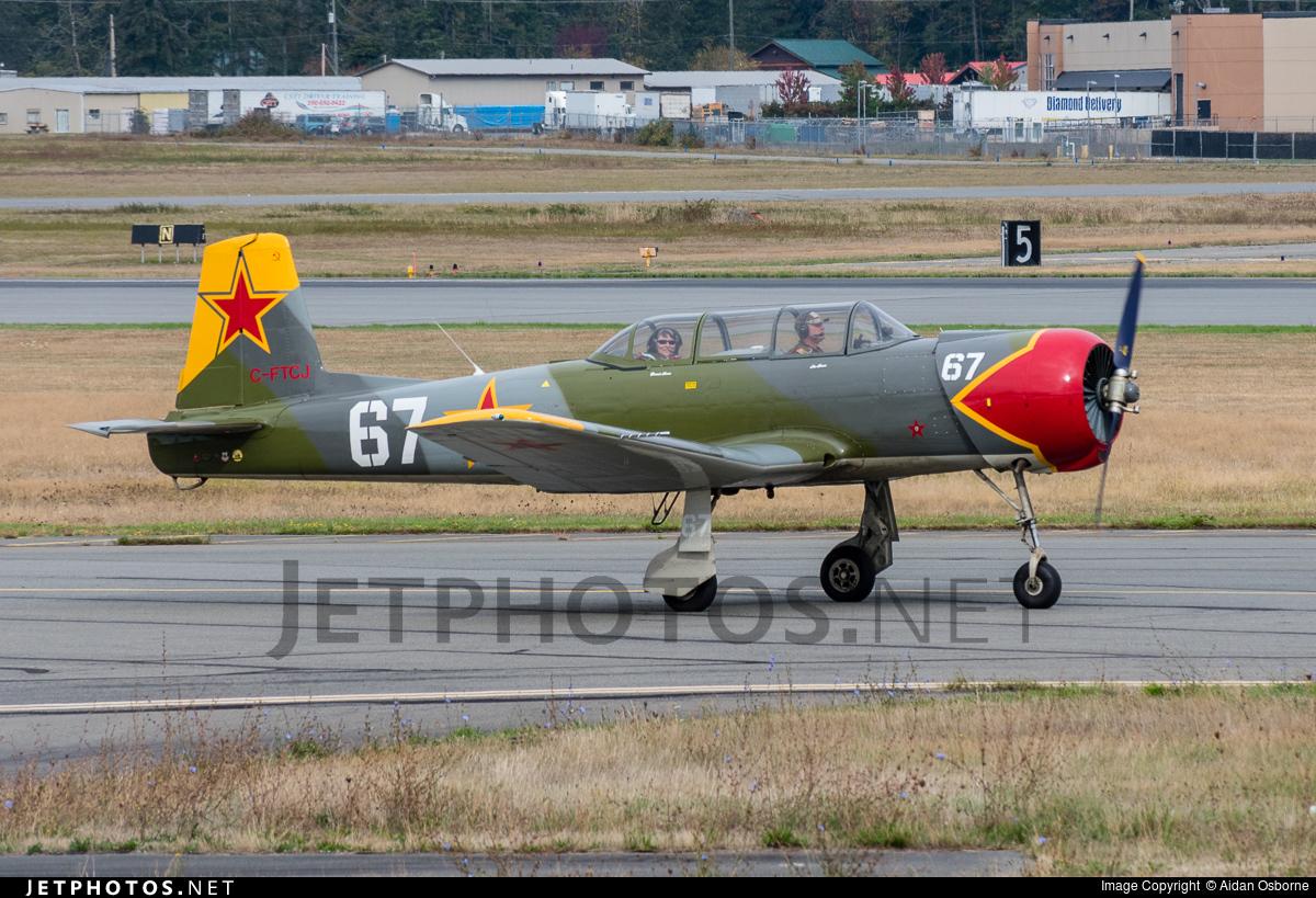 C-FTCJ - Nanchang CJ-6A - Private