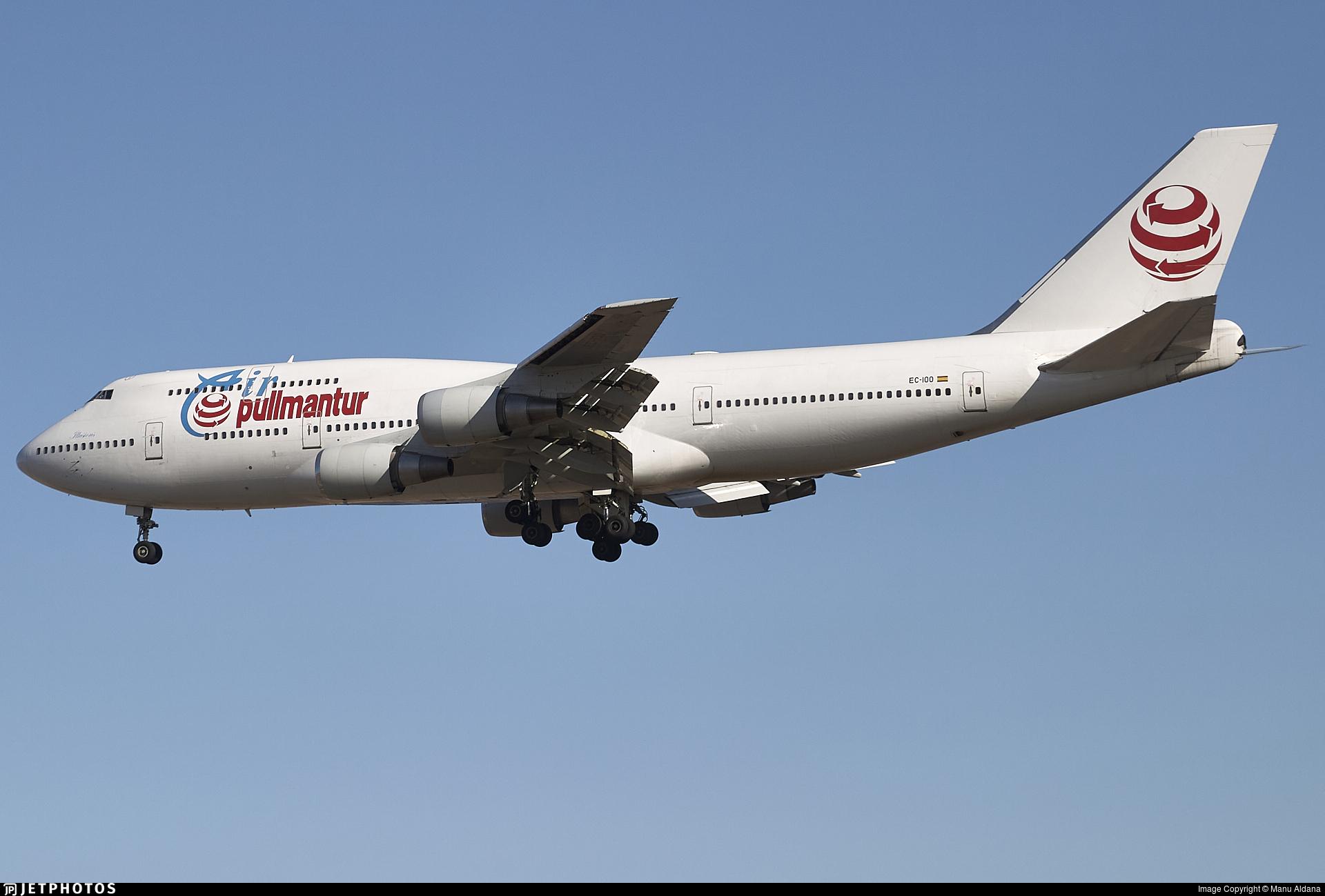 EC-IOO - Boeing 747-341 - Pullmantur Air