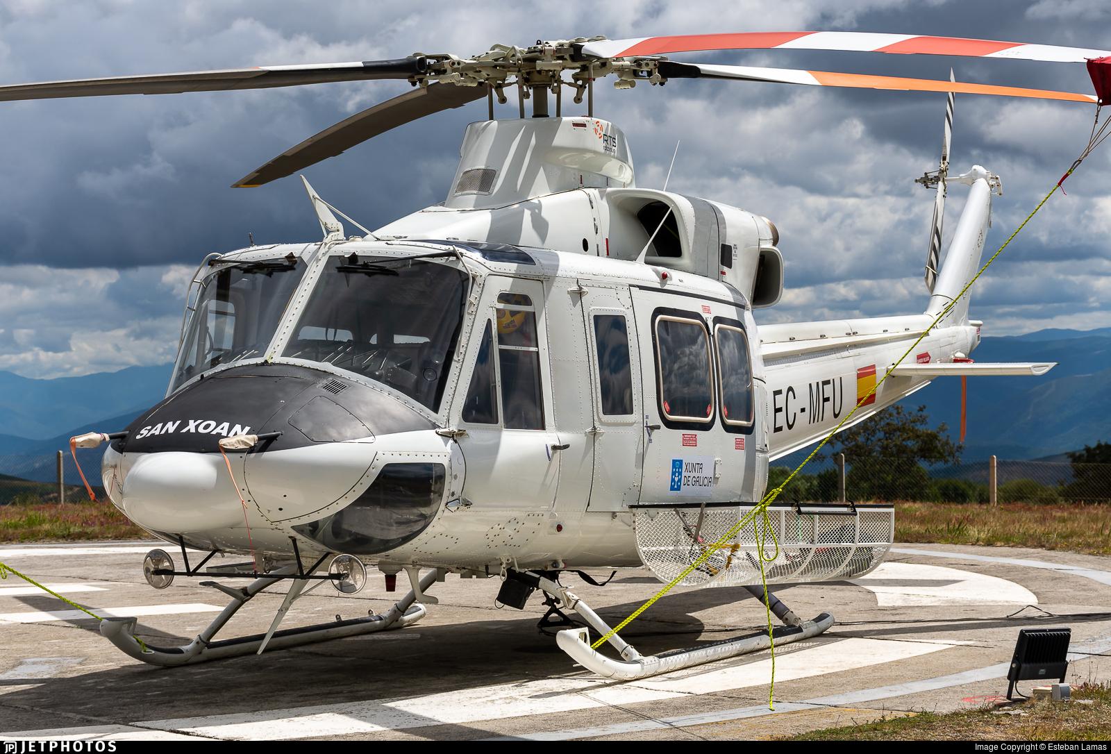 EC-MFU - Bell 412SP - Rotorsun