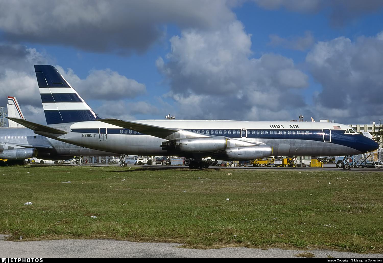 N880JT - Convair CV-880 - Indy Air Travel Club