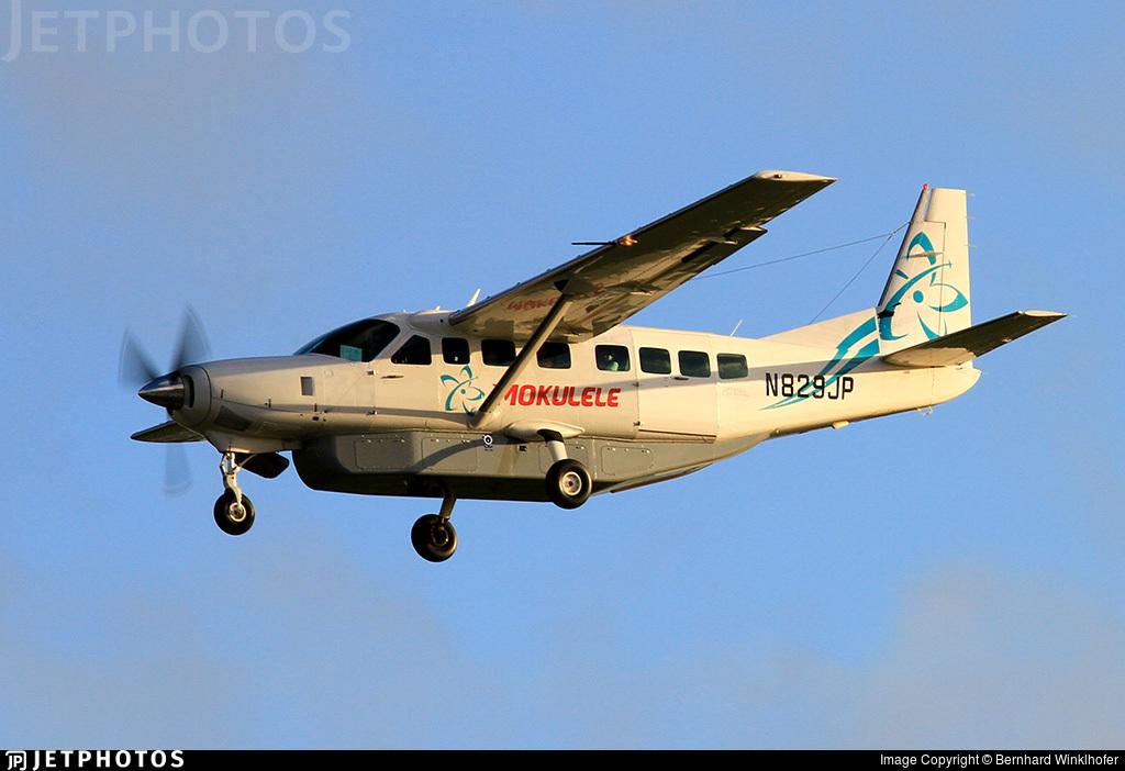 N829JP - Cessna 208B Grand Caravan - Mokulele Airlines