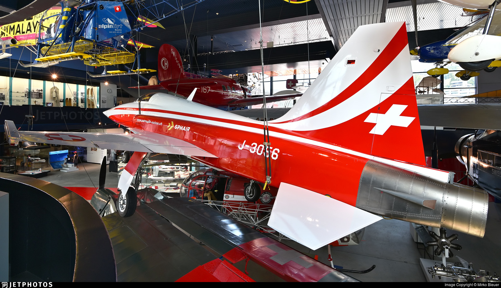 J-3056 - Northrop F-5E Tiger II - Switzerland - Air Force
