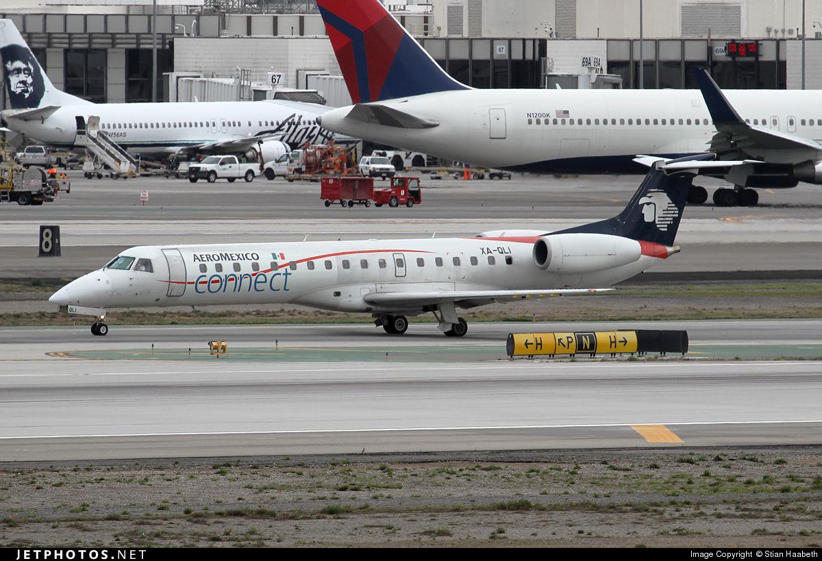 XA-QLI - Embraer ERJ-145LU - Aeroméxico Connect (Aerolitoral)