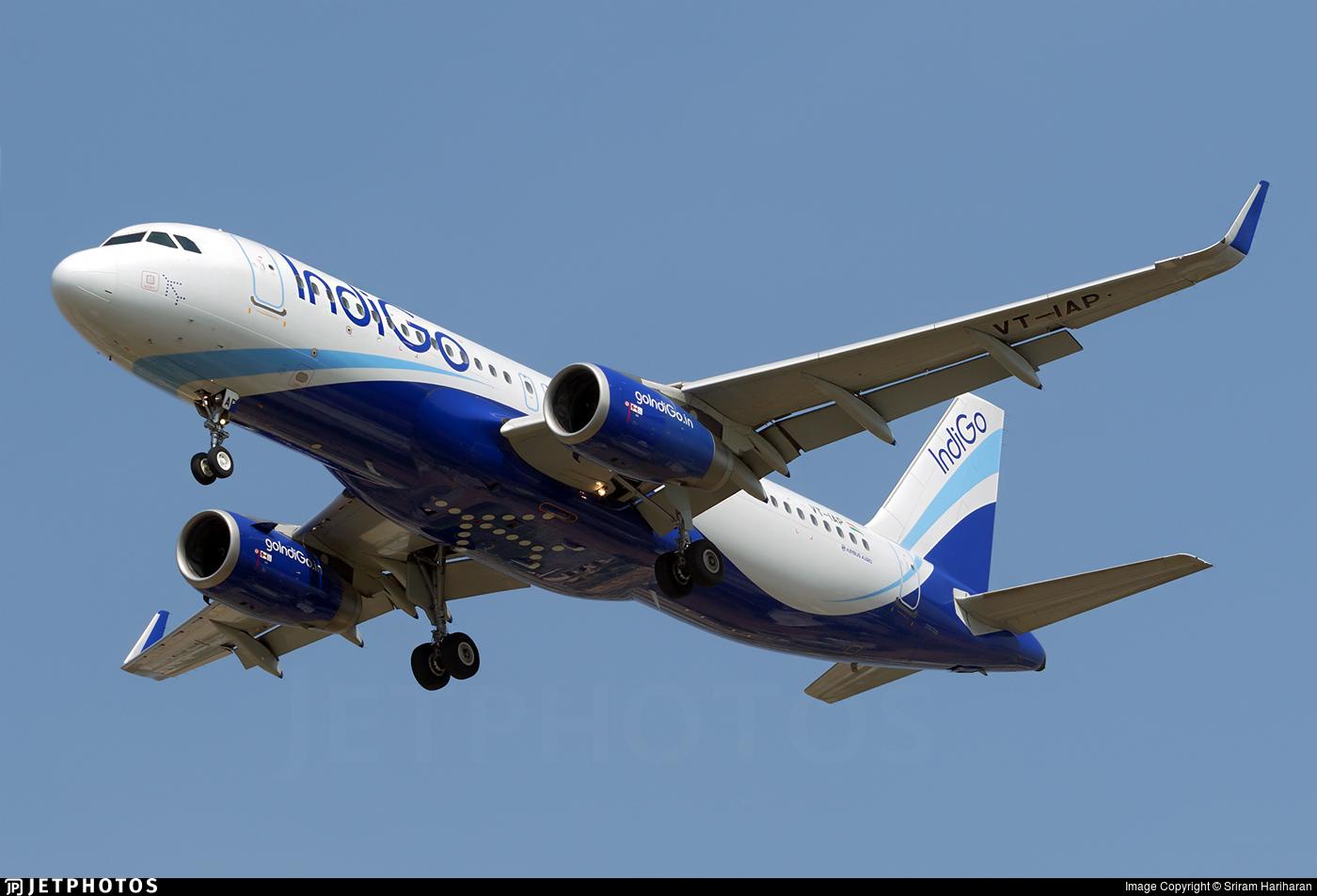 VT-IAP | Airbus A320-232 | IndiGo Airlines | Sriram Hariharan ...