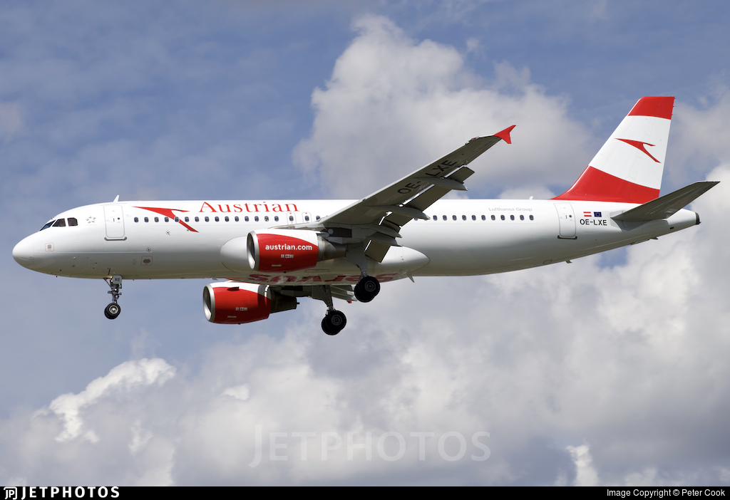 OE-LXE - Airbus A320-216 - Austrian Airlines