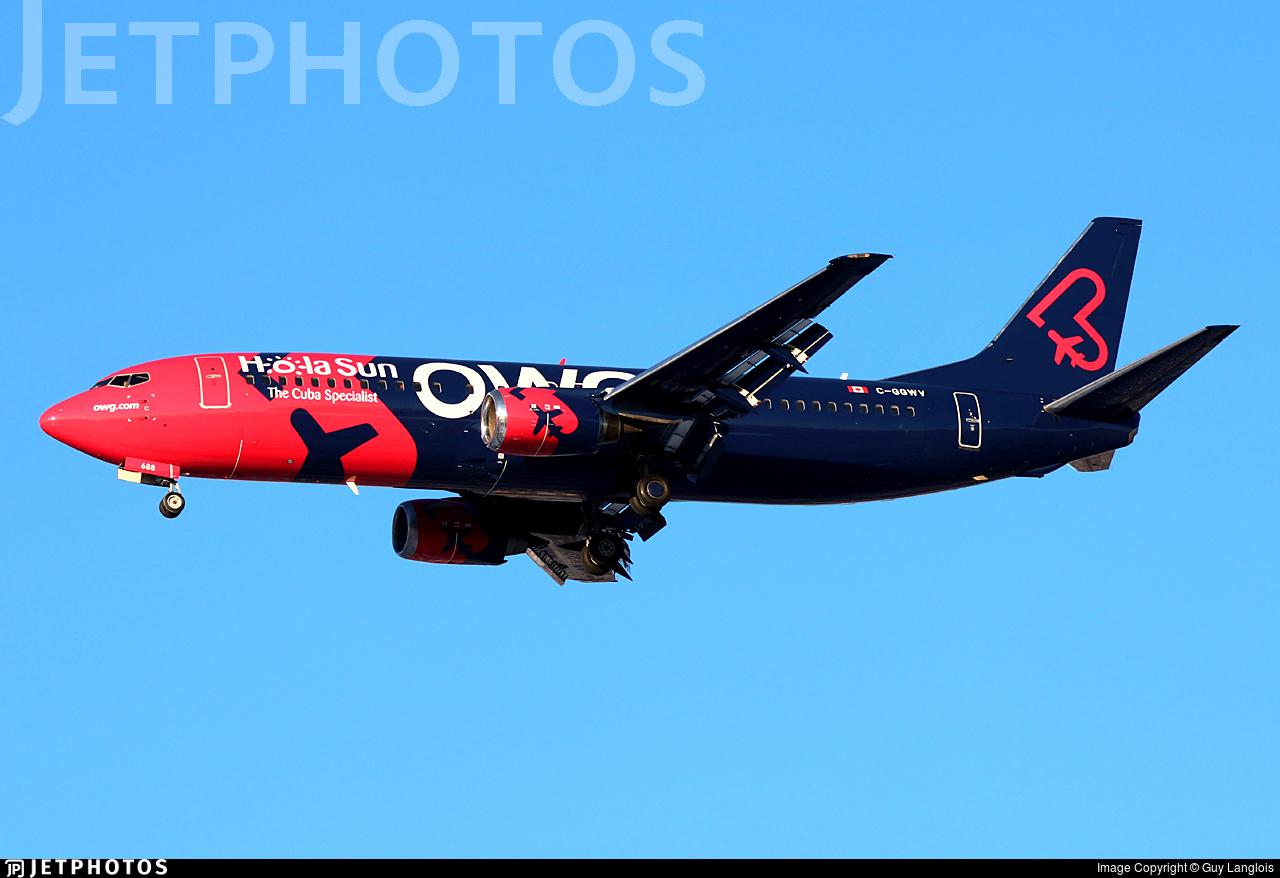 C-GGWV - Boeing 737-4Y0 - OWG