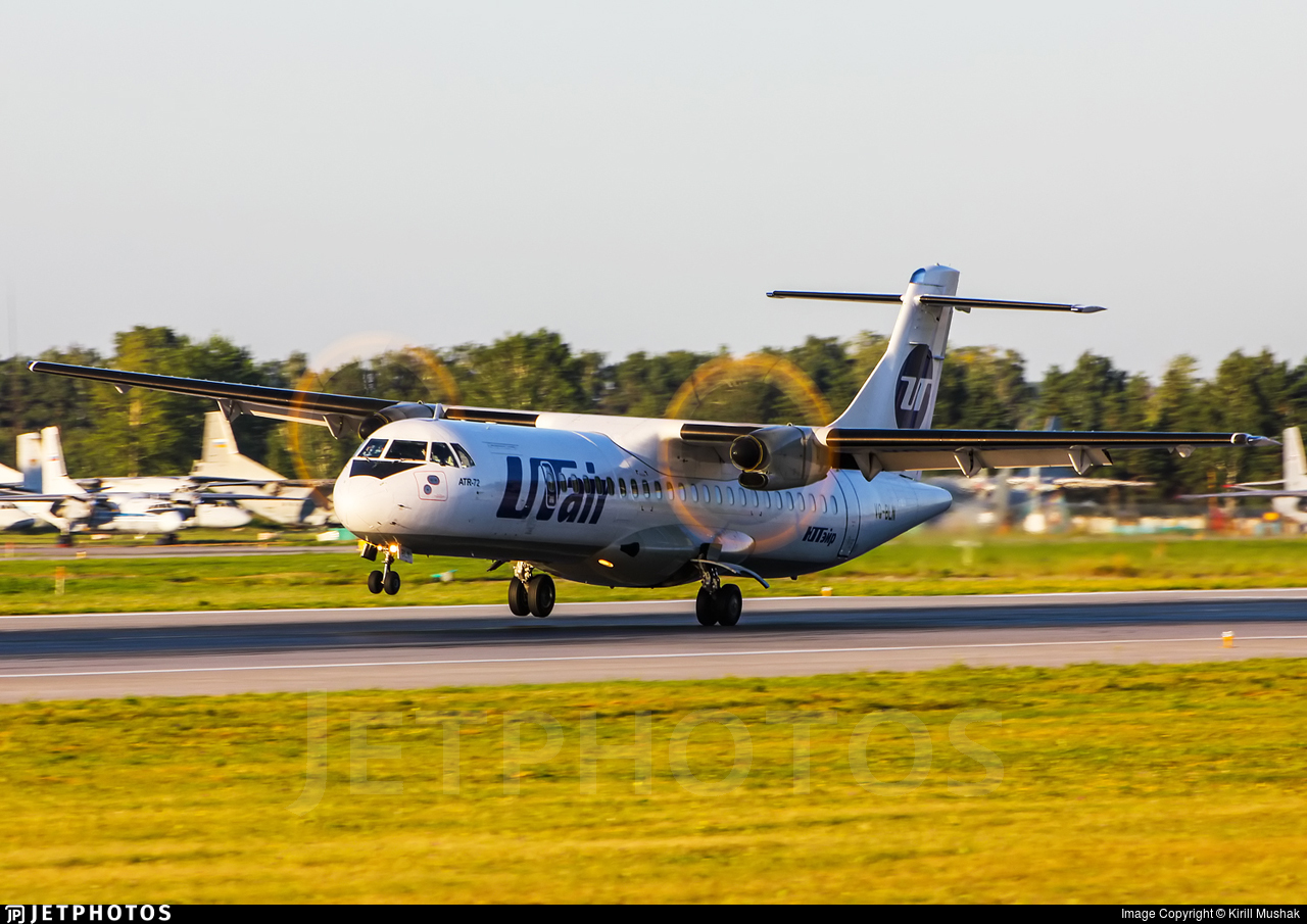 VQ-BLN - ATR 72-212A(500) - UTair Aviation