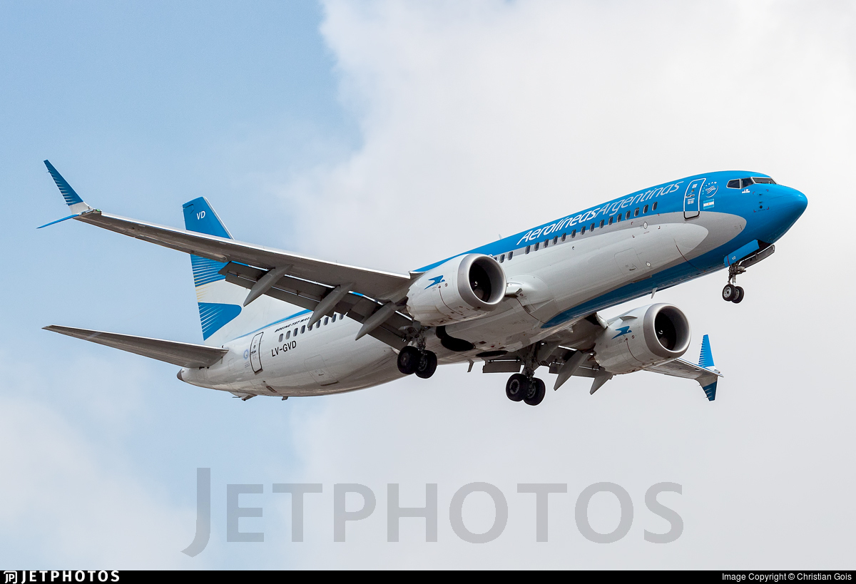 LV-GVD - Boeing 737-8 MAX - Aerolíneas Argentinas