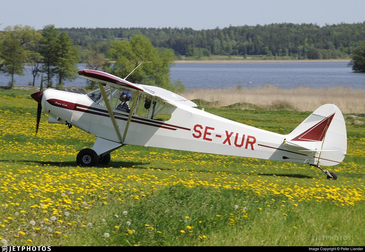 SE-XUR - Piper PA-18-150 Super Cub - Private
