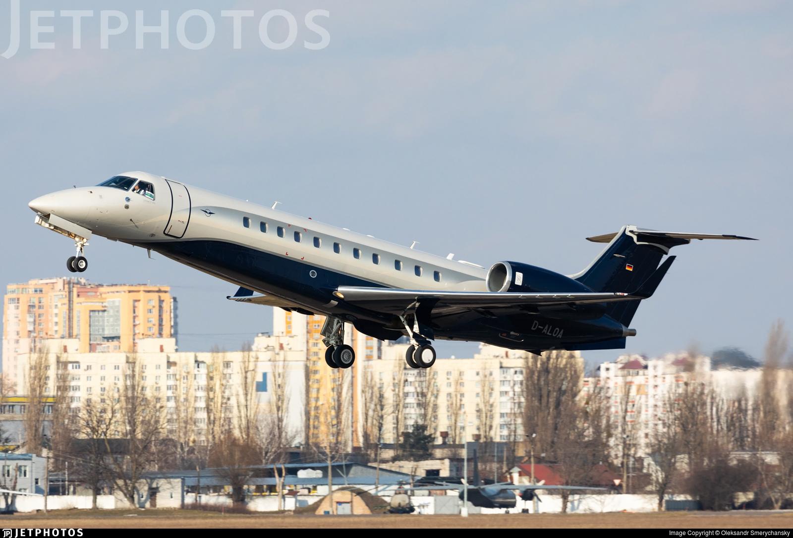 D-ALOA - Embraer ERJ-135BJ Legacy 650 - Air Hamburg