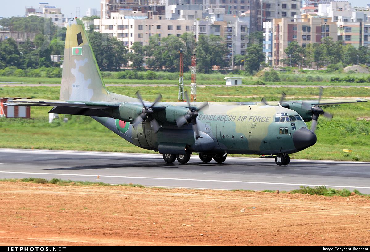 59-1537 - Lockheed C-130B Hercules - Bangladesh - Air Force