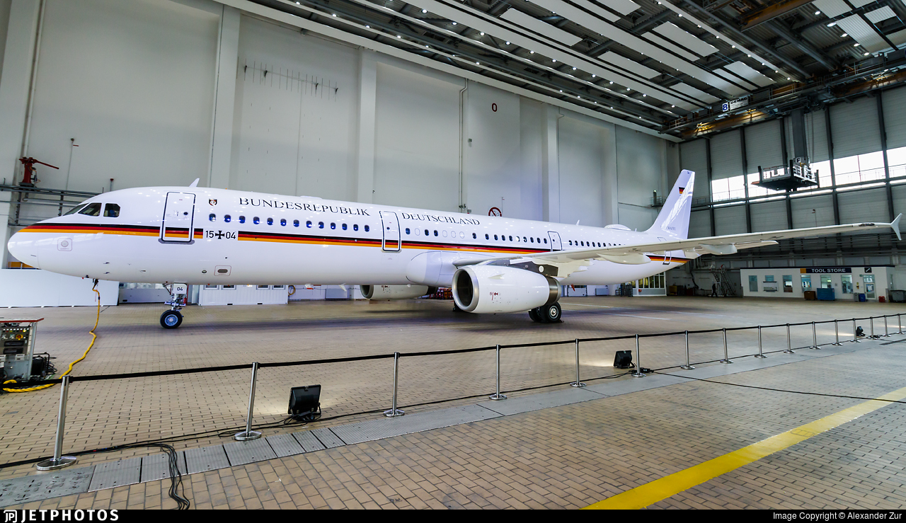 15-04   Airbus A321-231   Germany - Air Force   Alexander Zur