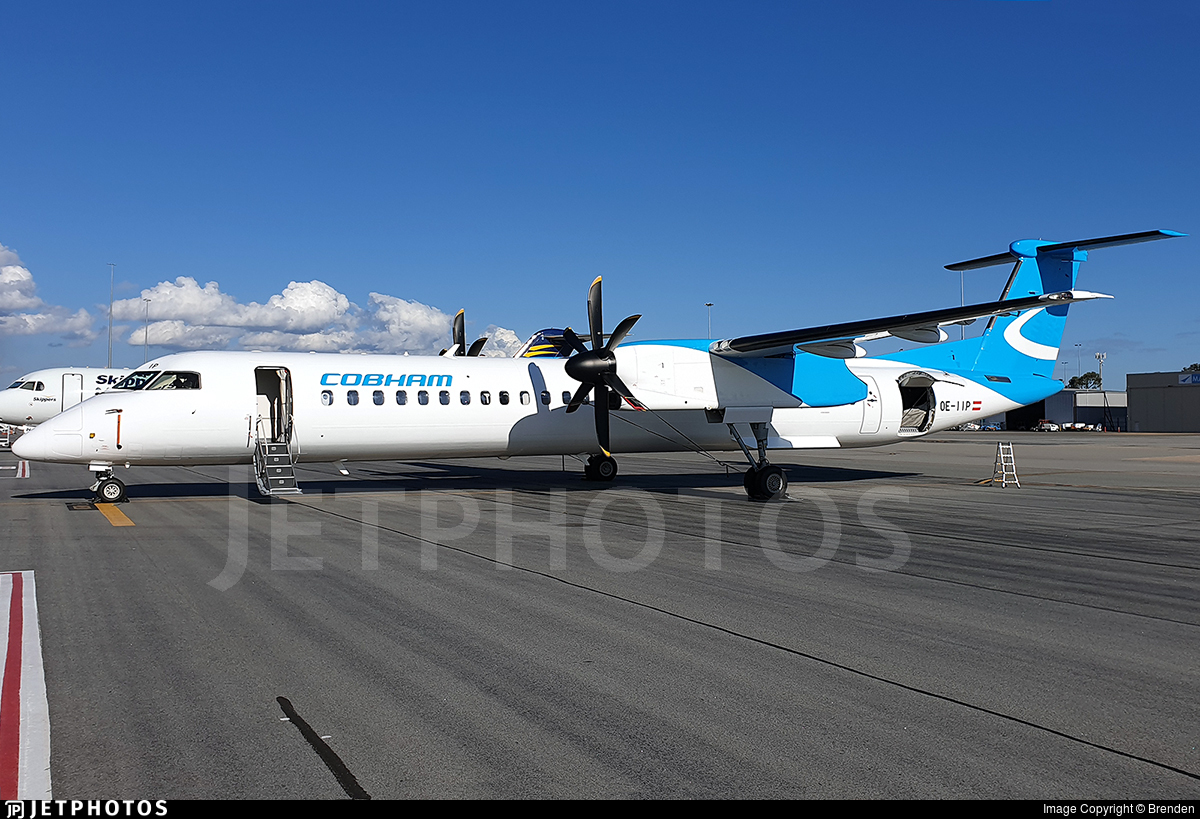 OE-IIP - Bombardier Dash 8-Q402 - Cobham Aviation Services Australia