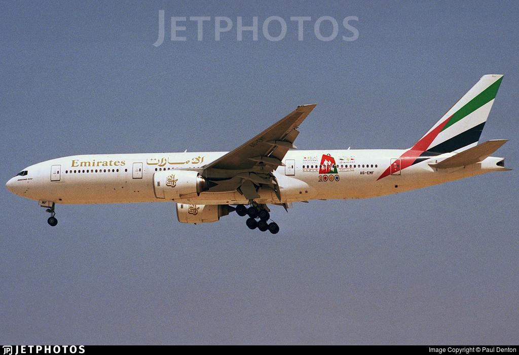 A6-EMF - Boeing 777-21H - Emirates