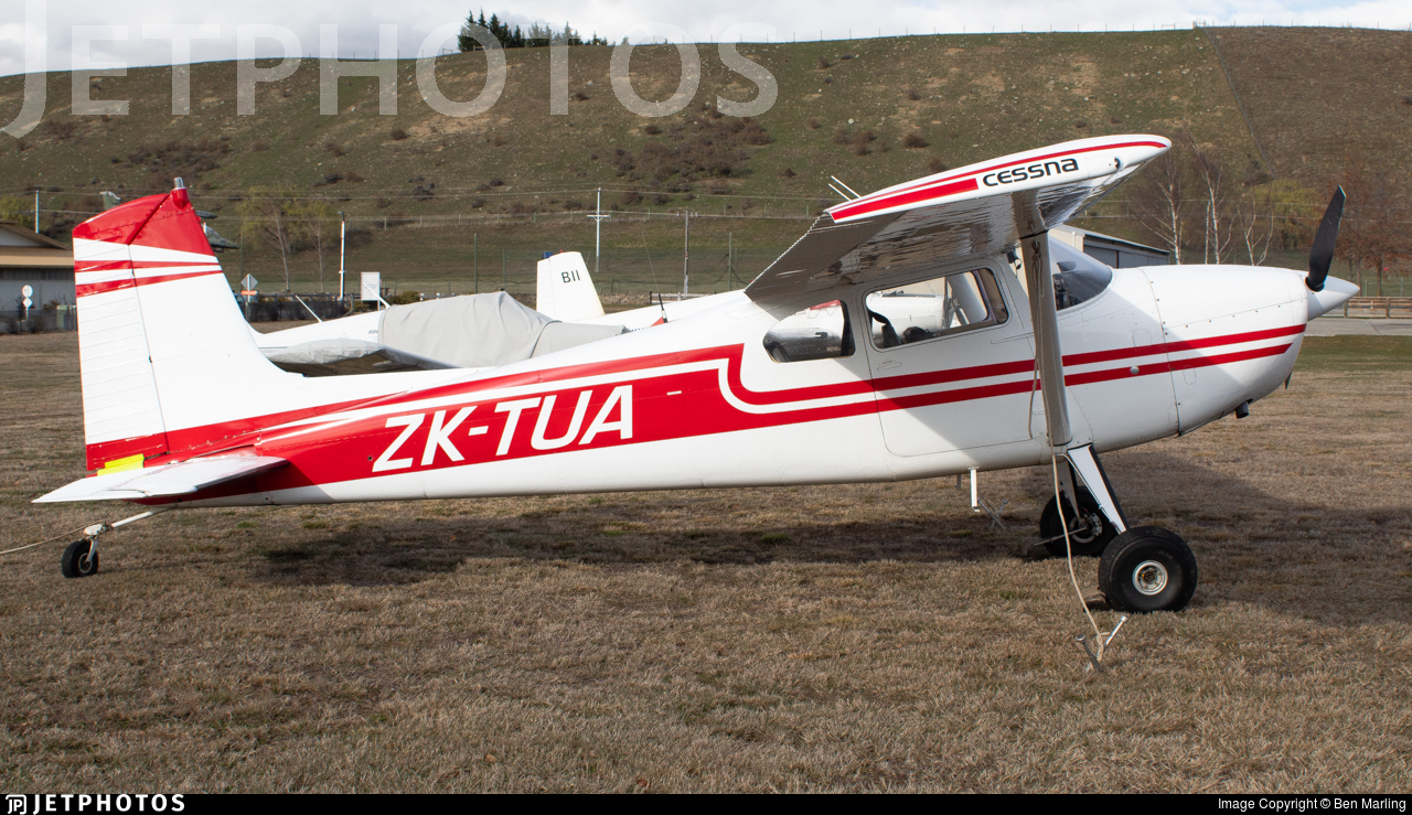 ZK-TUA - Cessna 180E Skywagon - Private