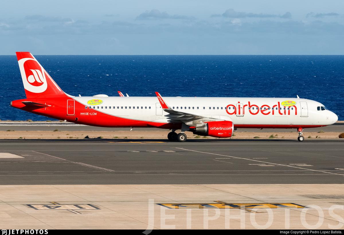 OE-LCM - Airbus A321-211 - Niki