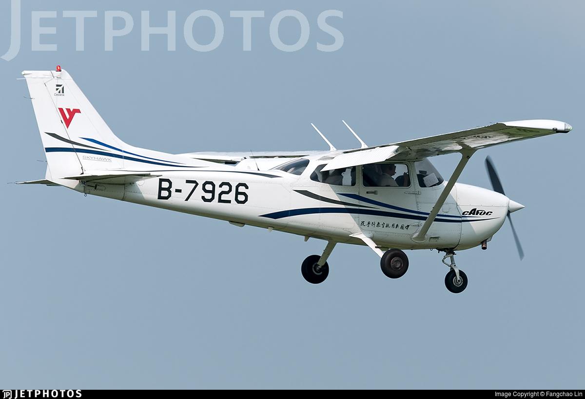 B-7926 - Cessna 172R Skyhawk - Civil Aviation Flight University of China