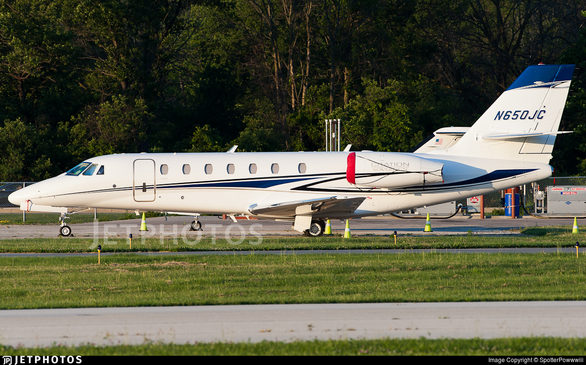 N650JC - Cessna 680 Citation Sovereign - Private