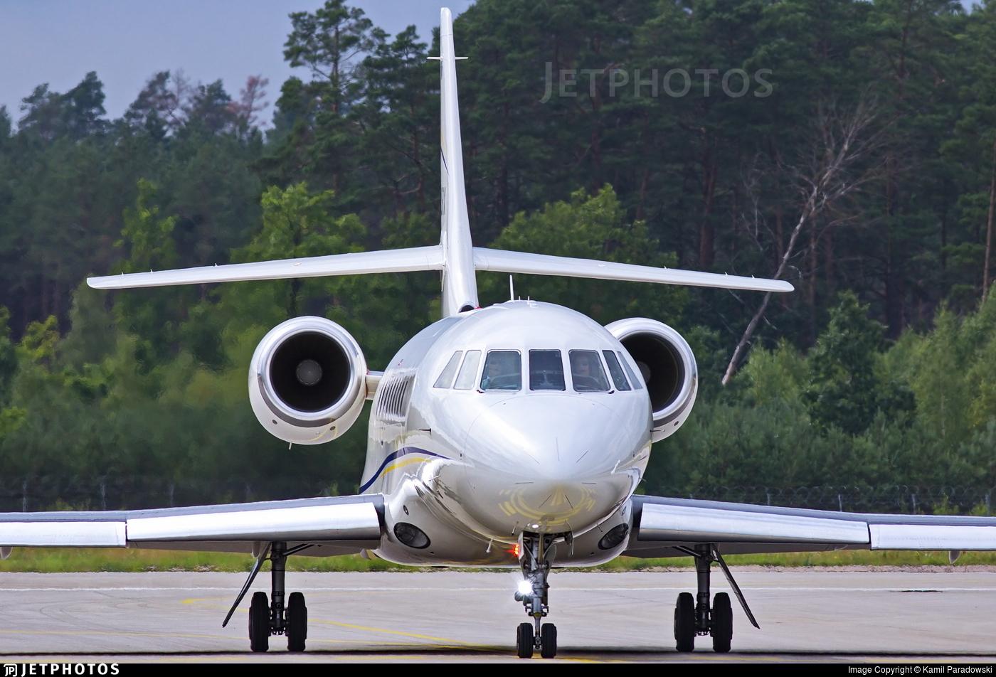 F-HLRX - Dassault Falcon 2000EX - Michelin Air Services