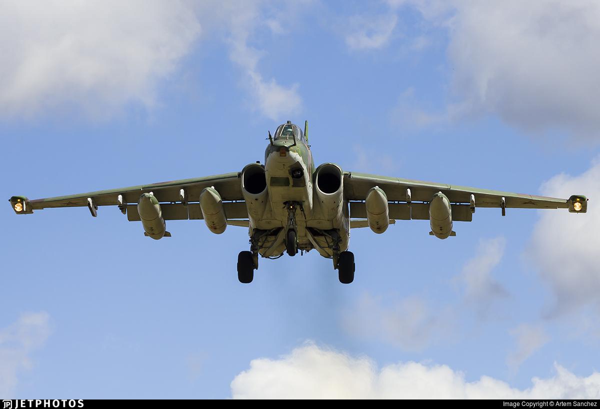 RF-91975 - Sukhoi Su-25BM Frogfoot - Russia - Air Force
