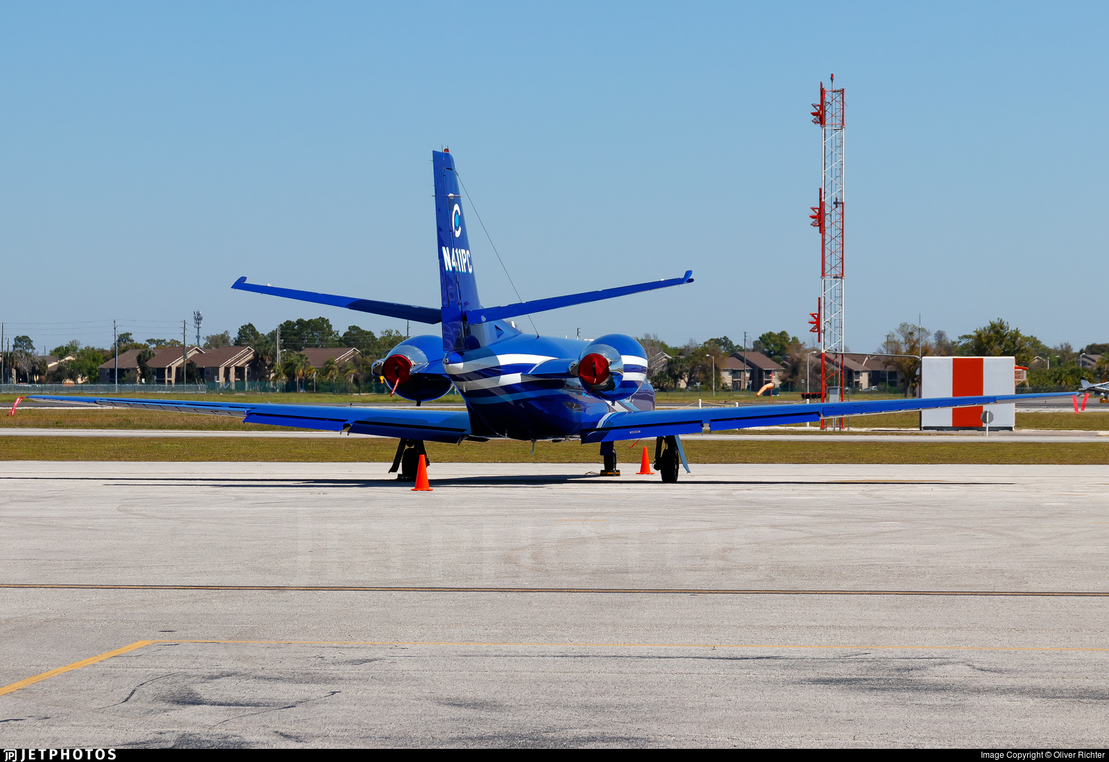 N411PC - Cessna 560 Citation Encore - Corporate Flight