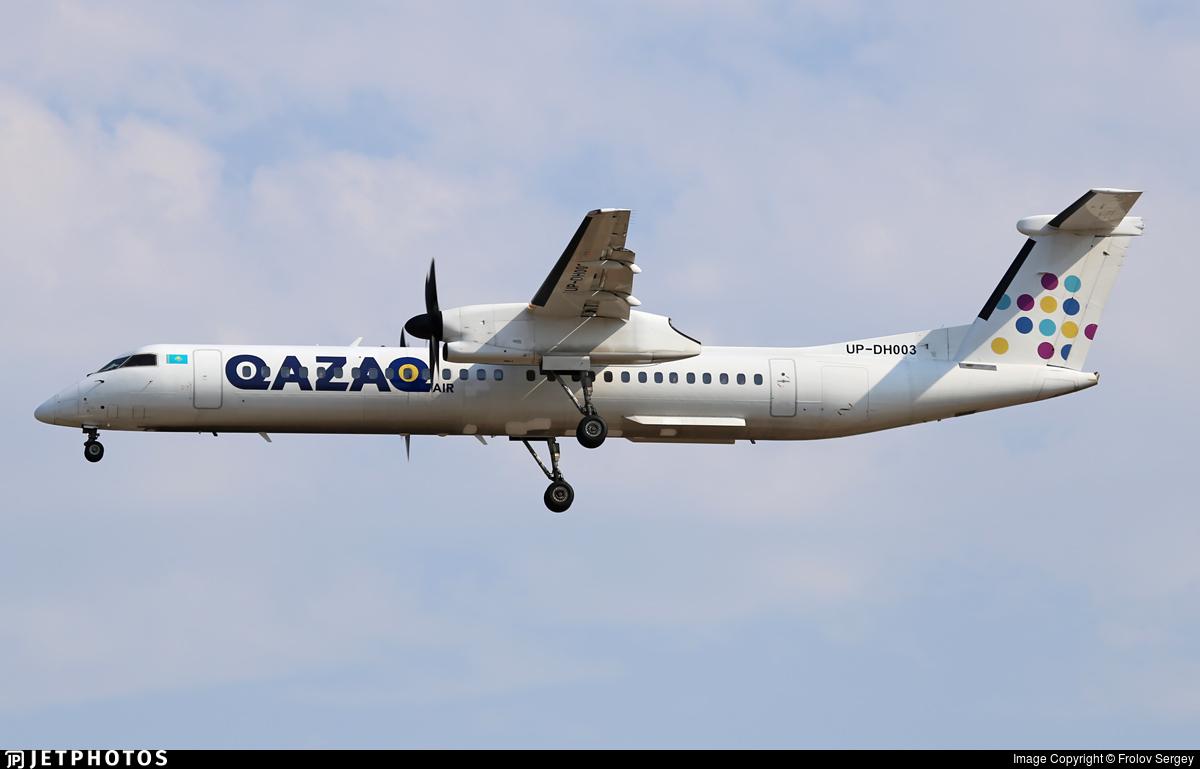 UP-DH003 - Bombardier Dash 8-Q402 - Qazaq Air