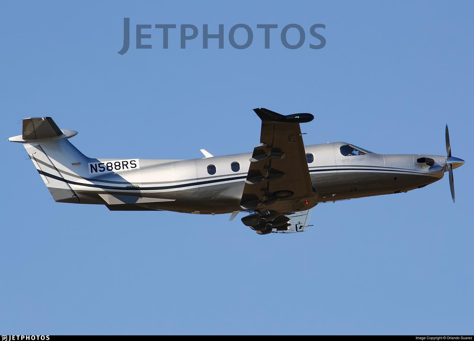 N588RS - Pilatus PC-12/47E - Private