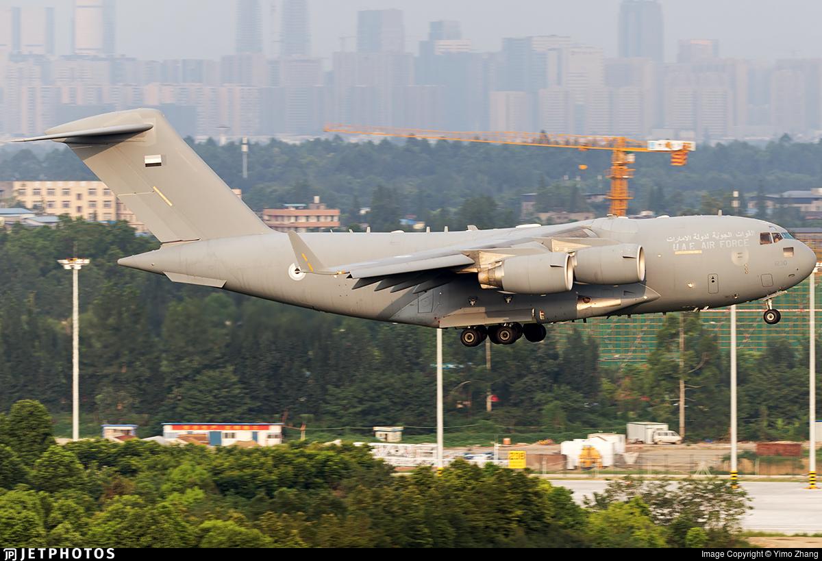 1230 - Boeing C-17A Globemaster III - United Arab Emirates - Air Force