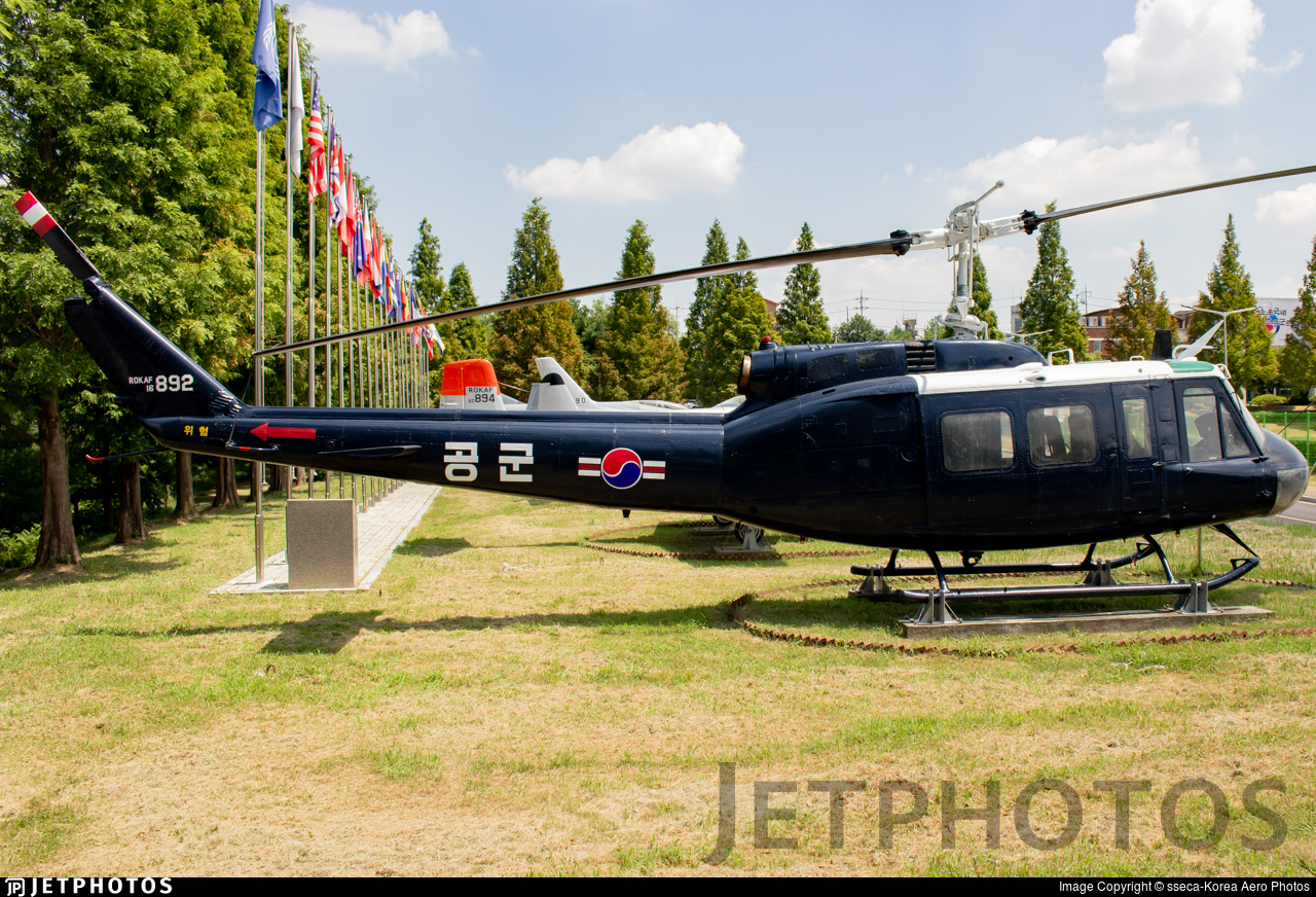 16-892 - Bell UH-1H Iroquois - South Korea - Air Force
