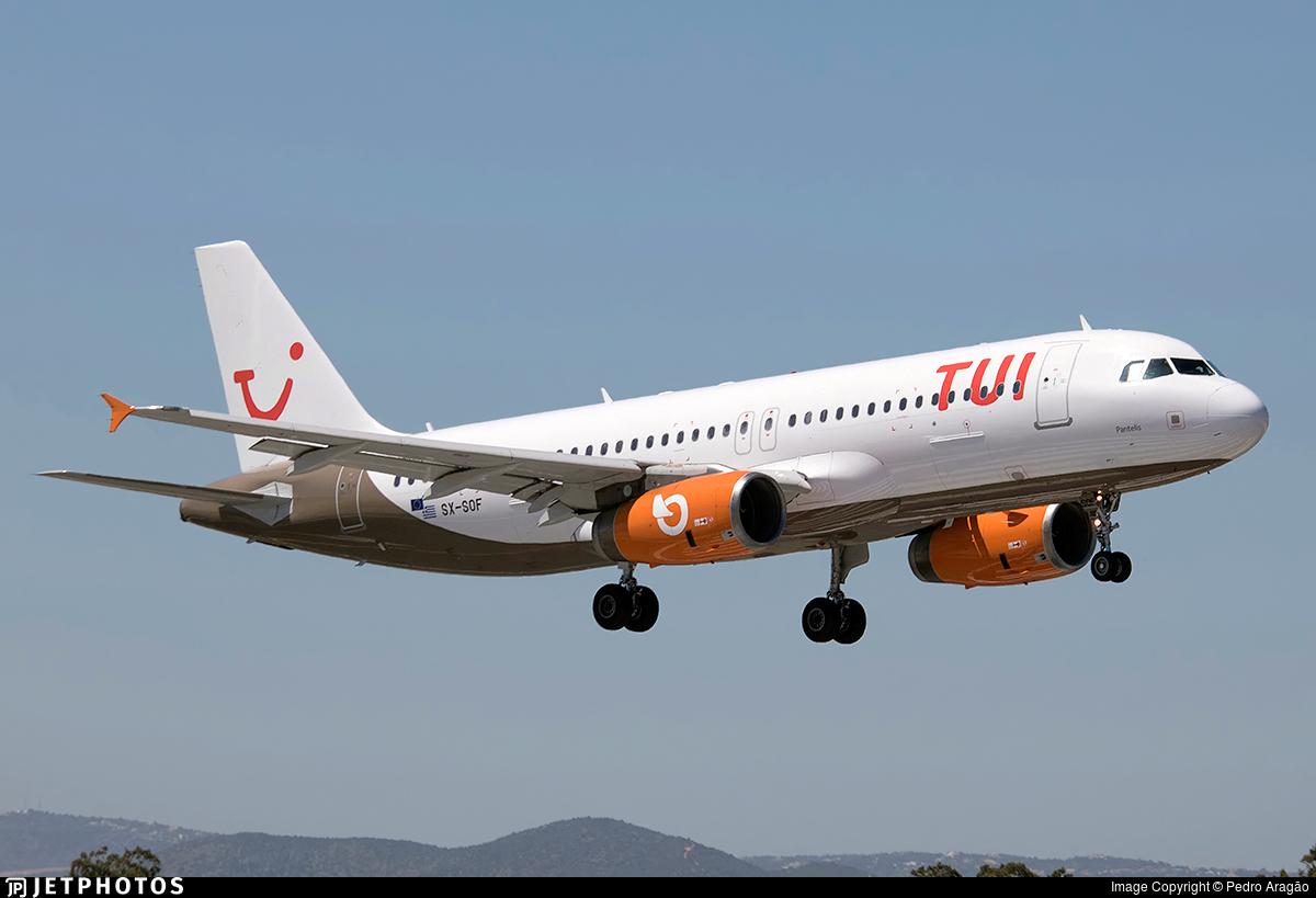 SX-SOF | Airbus A320-232 | TUI (Orange2Fly) | Pedro Aragão ...