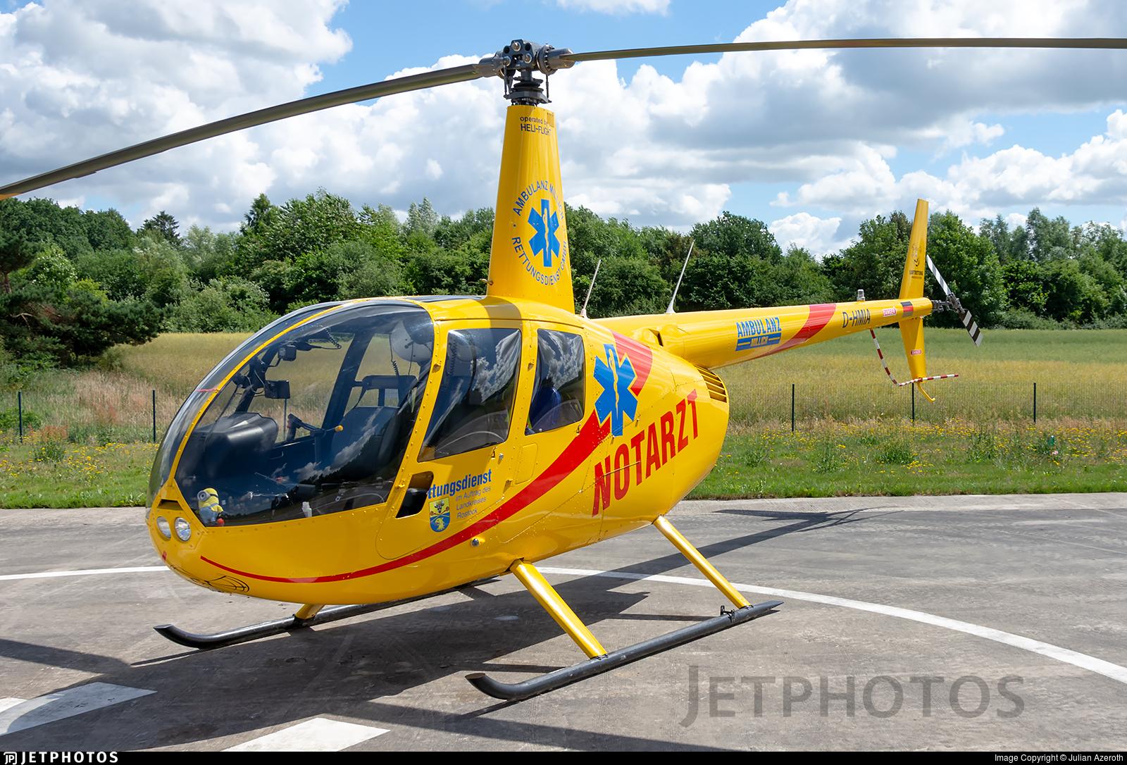 D-HMIA - Robinson R44 Raven II - Heli-Flight