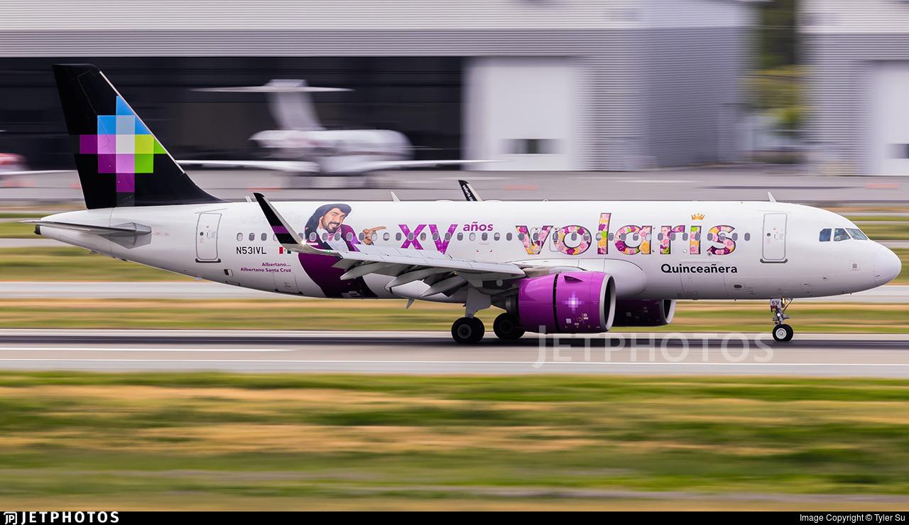 N531VL - Airbus A320-271N - Volaris