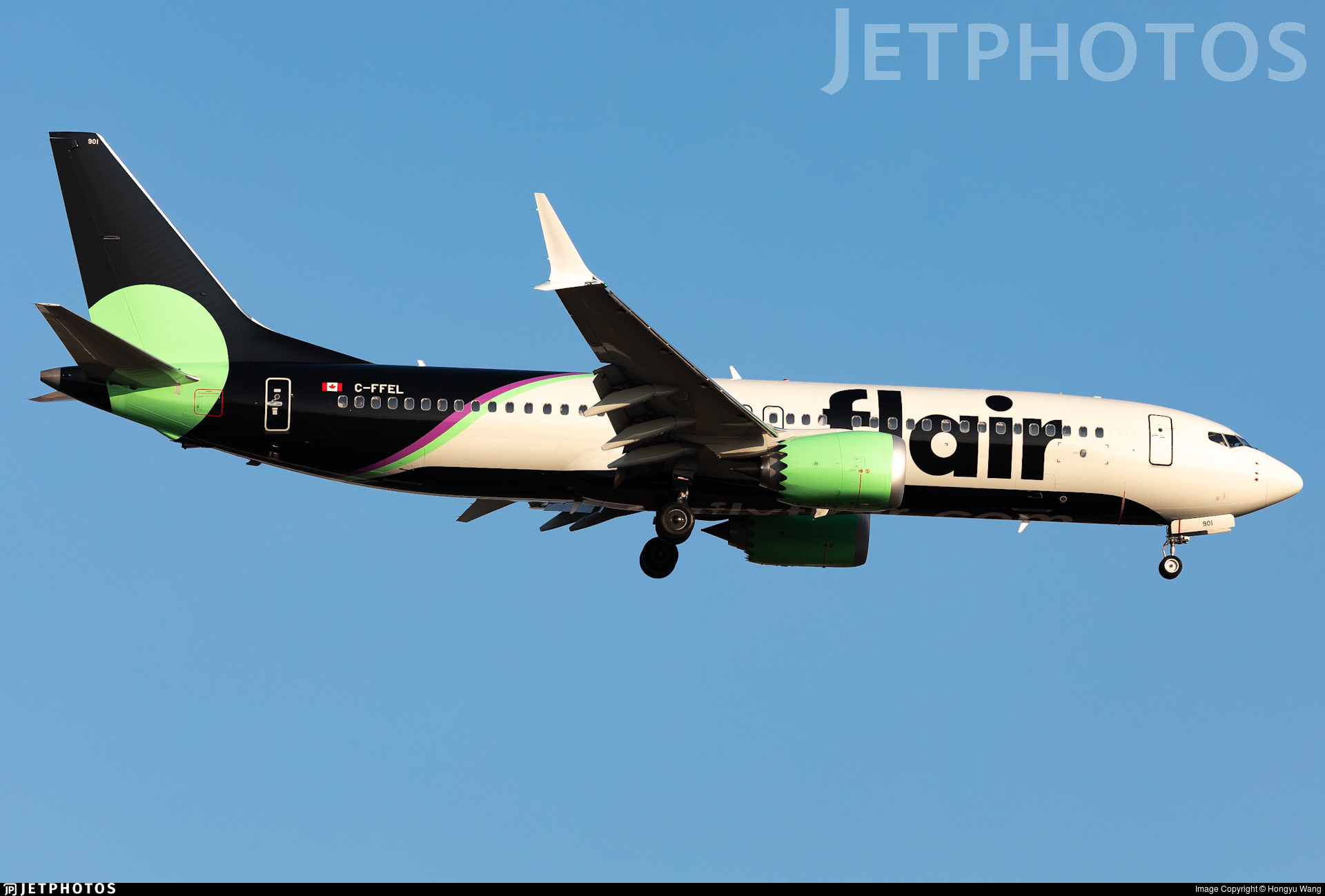 C-FFEL - Boeing 737-8 MAX - Flair Airlines