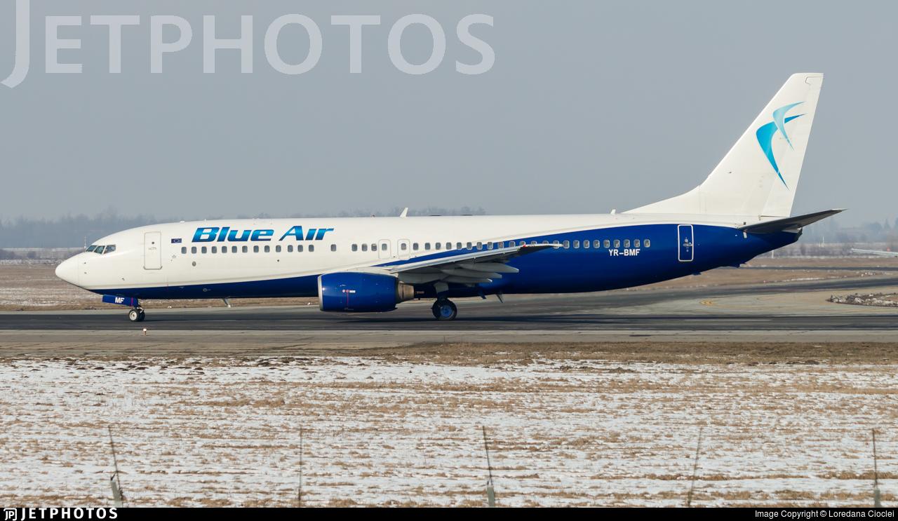 YR-BMF - Boeing 737-8Q8 - Blue Air