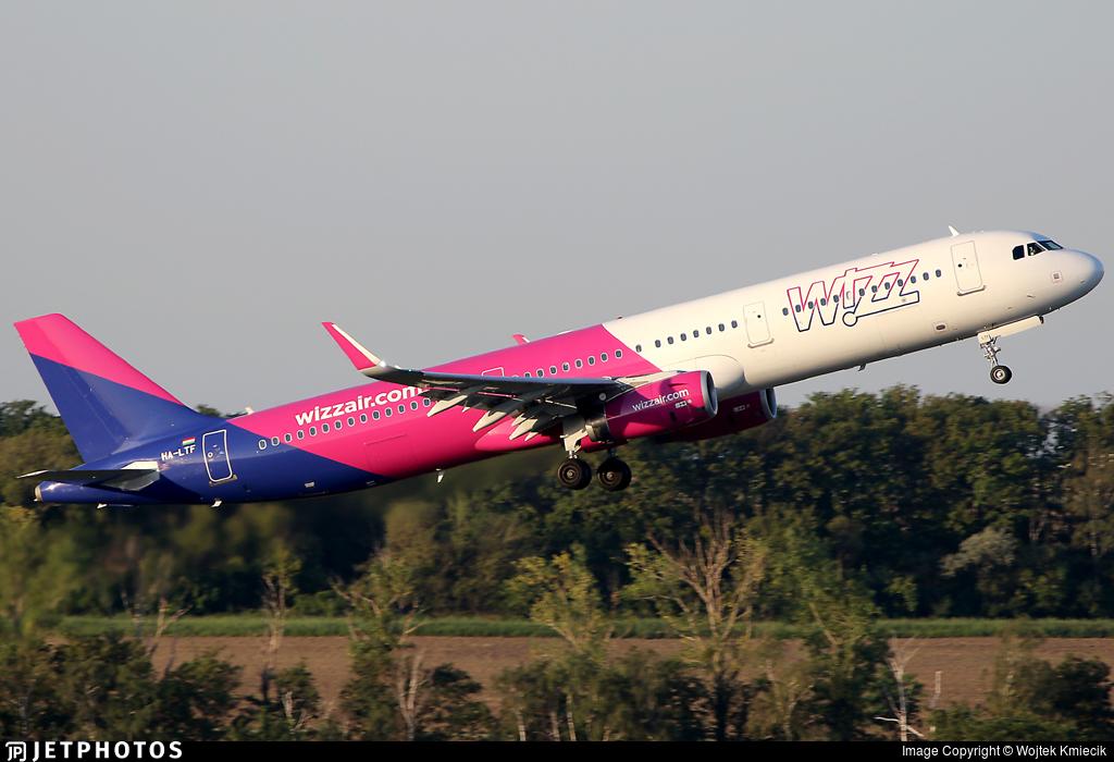 HA-LTF - Airbus A321-231 - Wizz Air