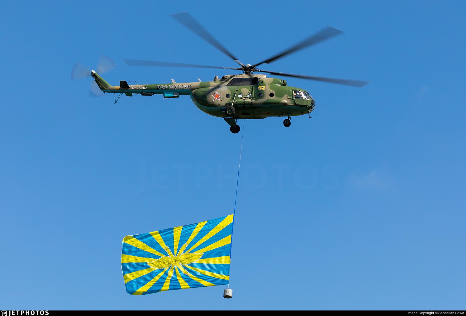 RF-92567 - Mil Mi-8MT Hip - Russia - Air Force