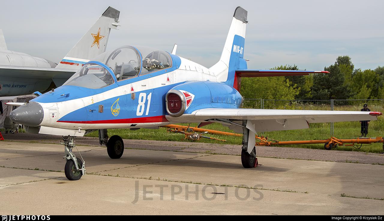 81 - Mikoyan-Gurevich MiG-AT - Russia - Air Force