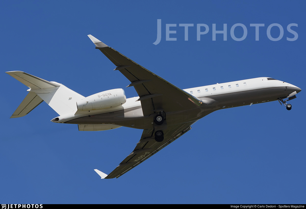 G-GOYA - Bombardier BD-700-1A10 Global Express - Private