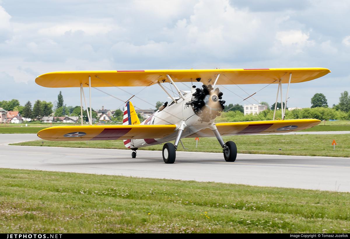 SP-YWW - Boeing N2S-3 Stearman - Private