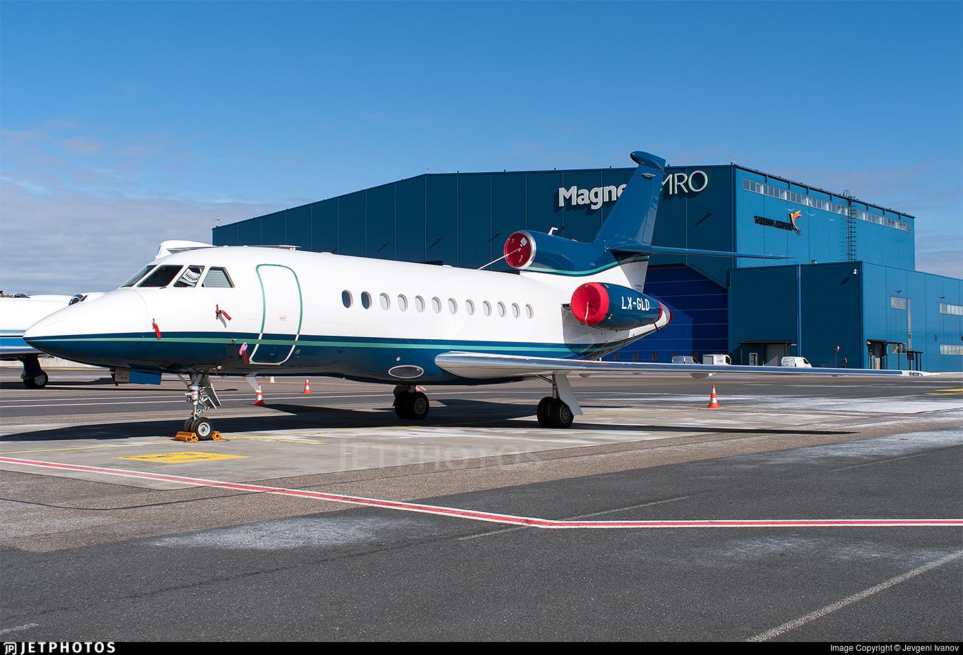 LX-GLD - Dassault Falcon 900EX - Global Jet Luxembourg