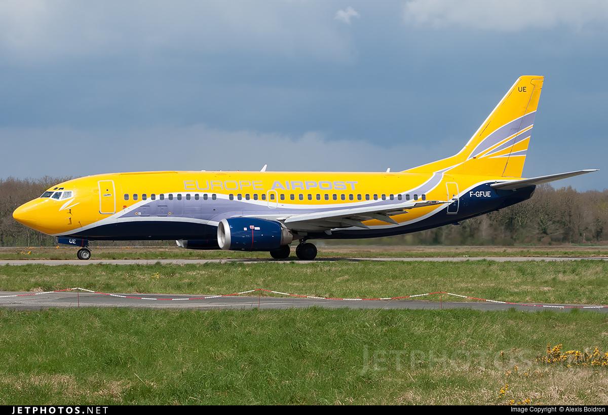 F-GFUE - Boeing 737-3B3(QC) - Europe Airpost