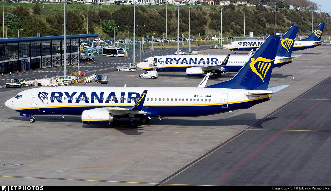 EI-GSJ - Boeing 737-8AS - Ryanair