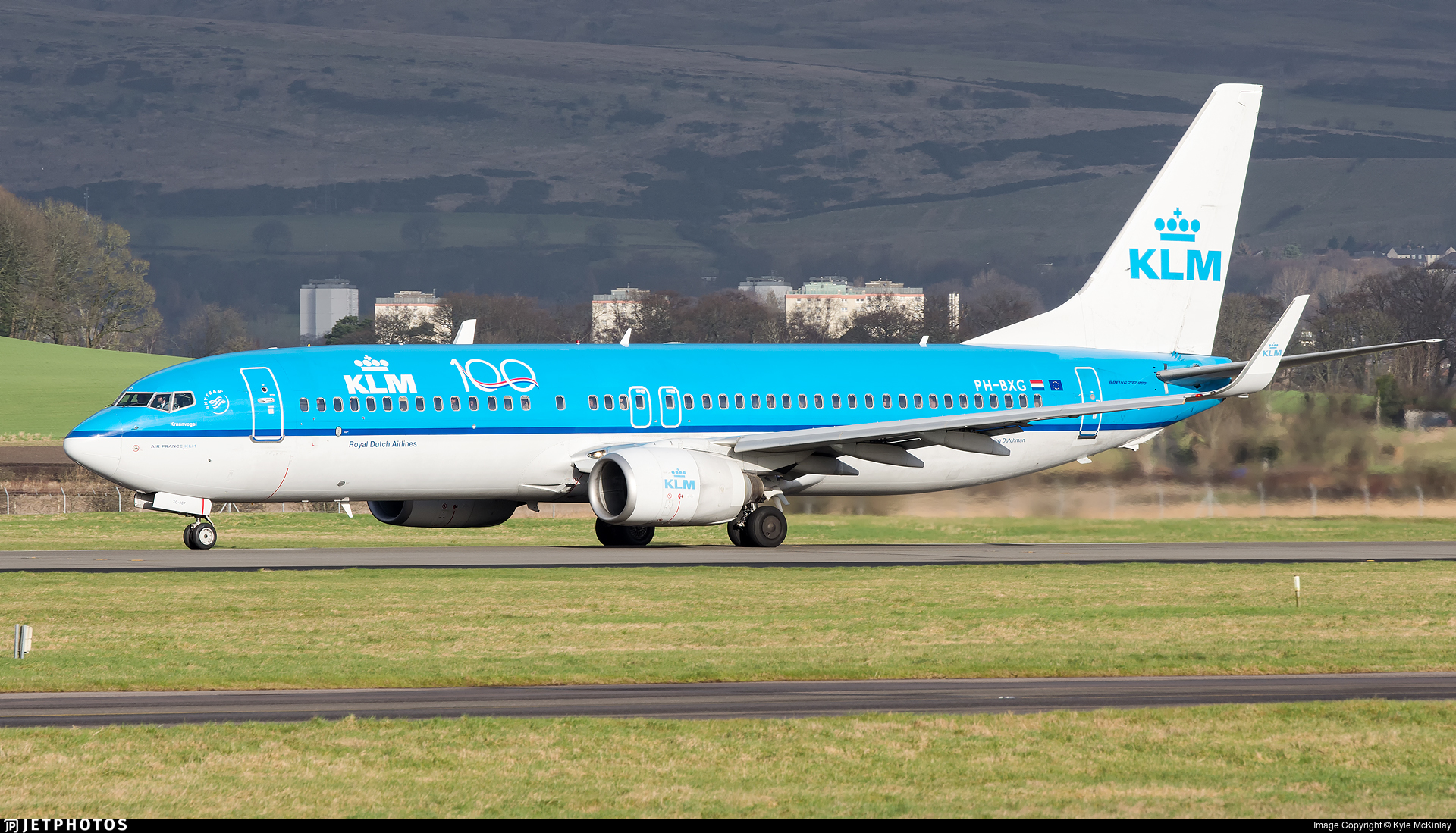 PH-BXG - Boeing 737-8K2 - KLM Royal Dutch Airlines