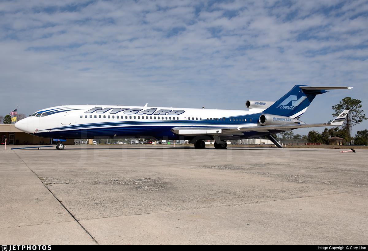 VQ-BNF - Boeing 727-2N6(Adv) - Private