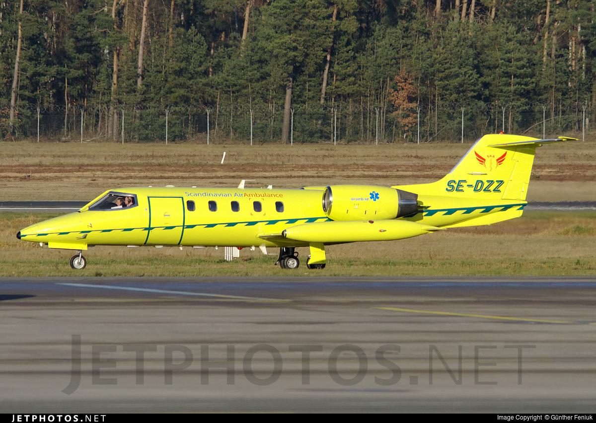 Se Dzz Bombardier Learjet 35a Scandinavian Air Ambulance