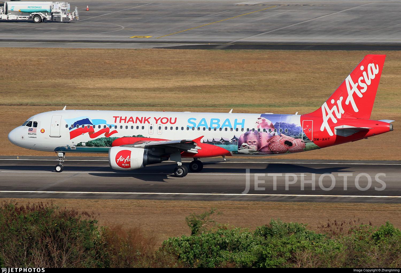 9M-AHT - Airbus A320-216 - AirAsia