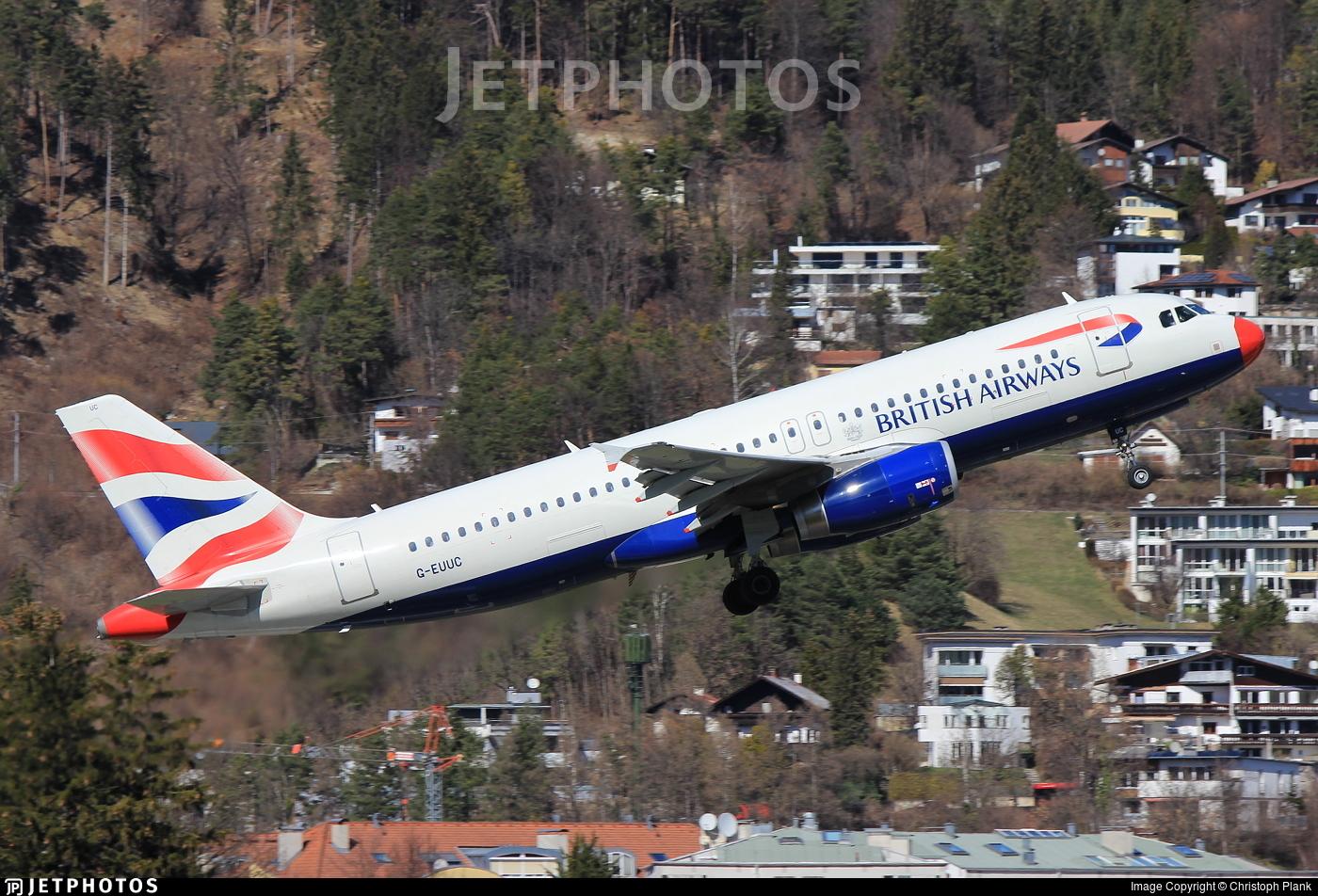 G-EUUC - Airbus A320-232 - British Airways