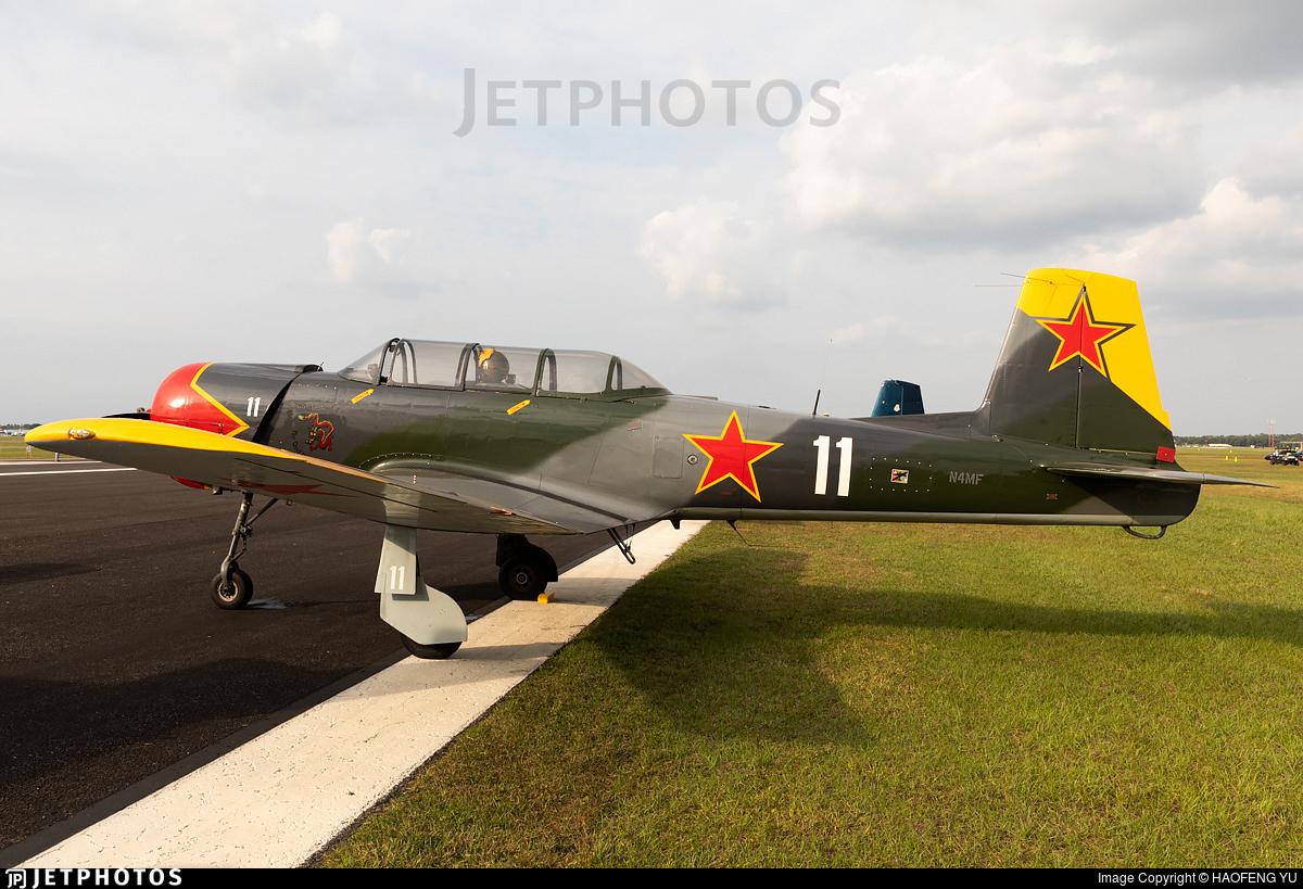 N4MF - Nanchang CJ-6 - Private